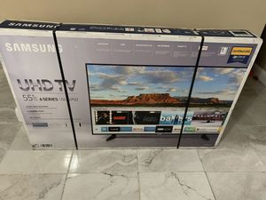 Price is firm Samsung 55 inch 4K smart TV for Sale in Hialeah, FL