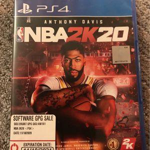 NBA 2k20 for Sale in Riverdale Park, MD
