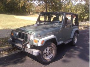 1999 Jeep Wrangler TJ SE Sport for Sale in Washington, DC