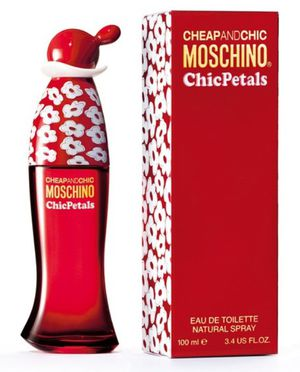 "FIRM $40.00 ""CHEAP AND CHIC PETALS"" BY MOSCHINO, 3.4 OZ EAU DE TOILETTE, SPRAY, NEW, SEALED for Sale in Manor, TX"