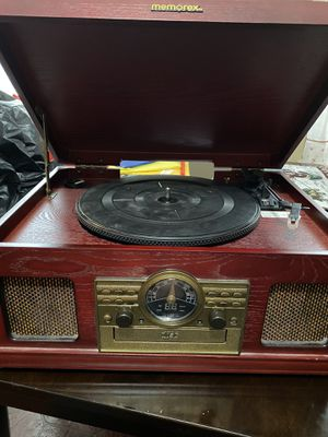 Memorex turntable, cd, cassettes,radio player for Sale in Clifton, NJ