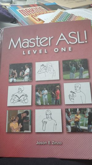 Master asl Level 1 for Sale in Lynnwood, WA