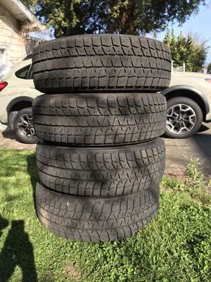 Blizak snow tires, rims and TPMS for Sale in Seattle, WA