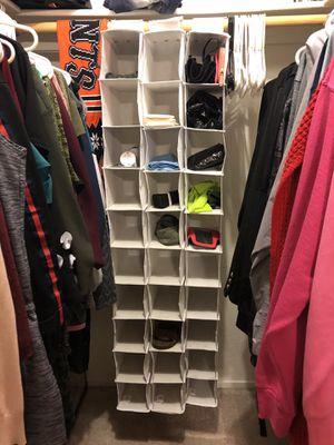 Closet Shoe Organizer for Sale in Modesto, CA
