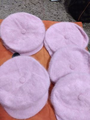 Cool Pink fur hats for Sale in Mableton, GA