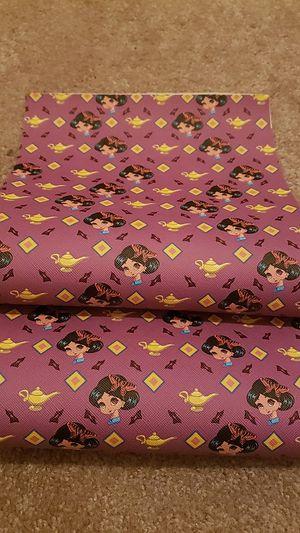 Princess Jasmin faux leather sheet set for Sale in Fontana, CA