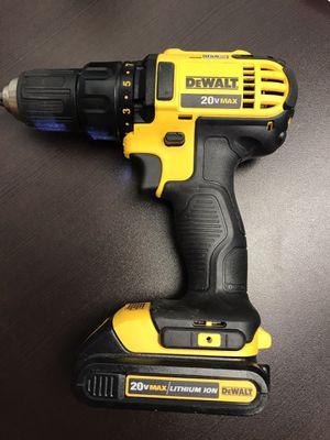 DeWalt 20 volt drill and battery for Sale in Chesapeake, VA