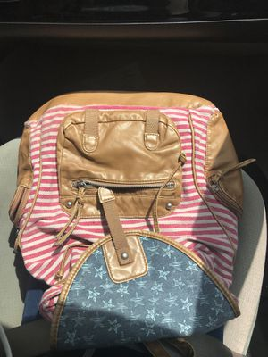 Leather USA small backpack for Sale in Fort Washington, MD