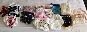 Lots of cloth diapers newborn for Sale in Kissimmee, FL