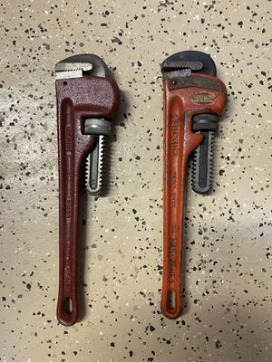 Pipe Wrenches - Ridgid and Sears for Sale in Mount Laurel Township, NJ