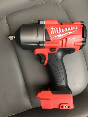 M18 FUEL 18-Volt Lithium-Ion Brushless Cordless 1/2 in. Impact Wrench with Friction Ring (Tool-Only) for Sale in Houston, TX