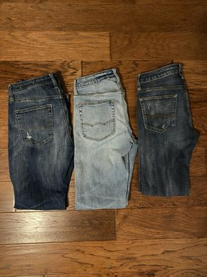 American Eagle Jeans (3) Sz 29W 30L for Sale in Zephyrhills, FL