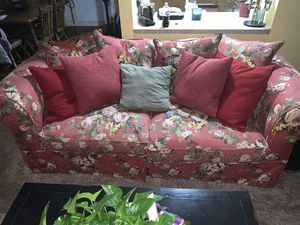 Sofa and chair and a half with ottoman for Sale in Abilene, TX