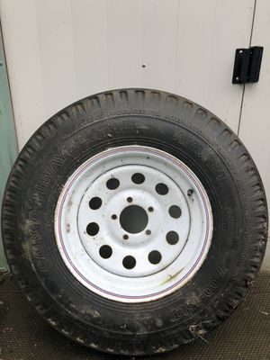 Trailer tire and rim for Sale in Marysville, WA