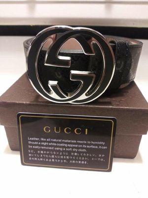 Black Gucci belt sz32-38 for Sale in Tacoma, WA