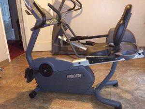 UPDATED - Precor Exercise Equipment (Elliptical-EFX524i and Recumbent Bike-C842i) for Sale in Portland, OR