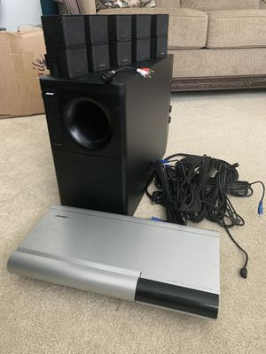 Bose Lifestyle 20 Music System with Bose Accoustimass 30 Series II with 5 Double Cube Jewel Speakers for Sale in Pittsburg, CA