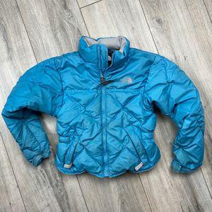 North Face down puffer jacket* girls xs* good shape for Sale in Spokane, WA
