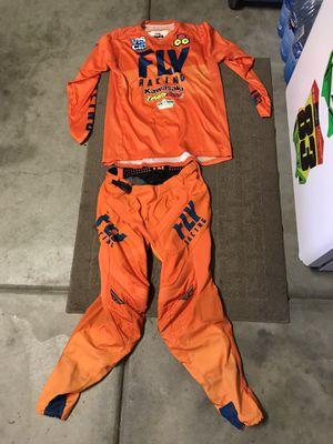 Fly Racing Lite Hydrogen Motocross Gear (orange) for Sale in Lake Elsinore, CA