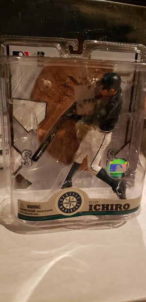 Ichiro Seattle Mariners action figure $15 for Sale in Fresno, CA