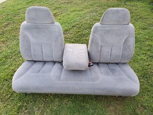 Chevy silverado seats Chevy obs seats fits bench seat for Sale in San Pedro, CA