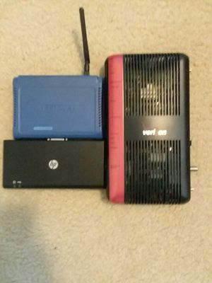 Wireless router/port replicator lot for Sale in Tampa, FL