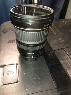 Canon 10-22mm Lens Canon 5D Mark iii Tamaron 70-300mm for Sale in Sacramento, CA