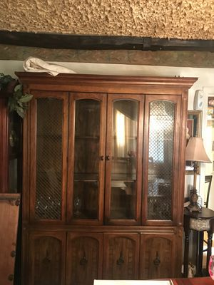 Antique china cabinet for Sale in Baltimore, MD