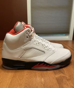 Air Jordan Retro 5 Fire Red size 12 for Sale in Takoma Park, MD