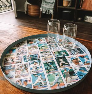 Los Angeles Dodgers 1988 World Series Table and Drink Tray for Sale in Los Angeles, CA