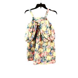 ZARA girl's flower print dress, off the shoulder and wide sleeves size 11/12 for Sale in Miami,  FL