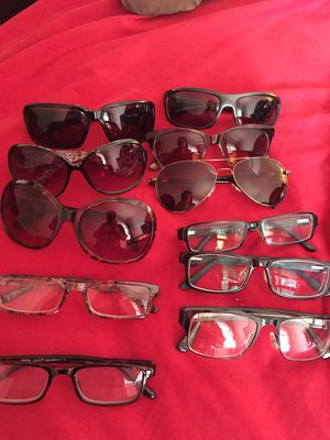 6 sunglasses and 5 frames, the big sunglasses it is From kardashian kollection. for Sale in Oakton, VA