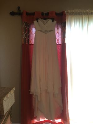Strapless Wedding Dress for Sale in Sanger, CA