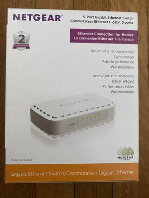 Netgear 5-Port GB Ethernet Switch for Sale in Montgomery, AL