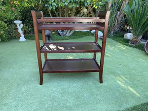 Baby changing table: 39 in. Height, 35 1/2 in. Wide & 17 in. Depth for Sale in San Diego, CA