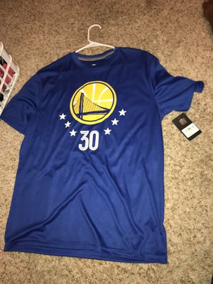 Steph curry t shirt jersey never worn for Sale in Arlington, TX