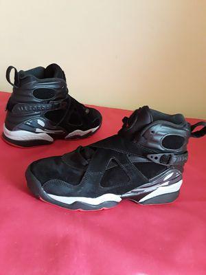 Nike Air Jordan 8 Retro Bred Black Red Size 5Y and 6.5 WOMEN & 5 MEN for Sale in Marietta, GA