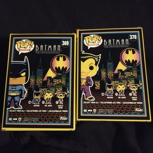 New Glow In The Dark Batman And Joker Funko Pops for Sale in Albuquerque, NM