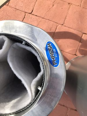 Phresh air filter and silencer for Sale in Charlotte, NC