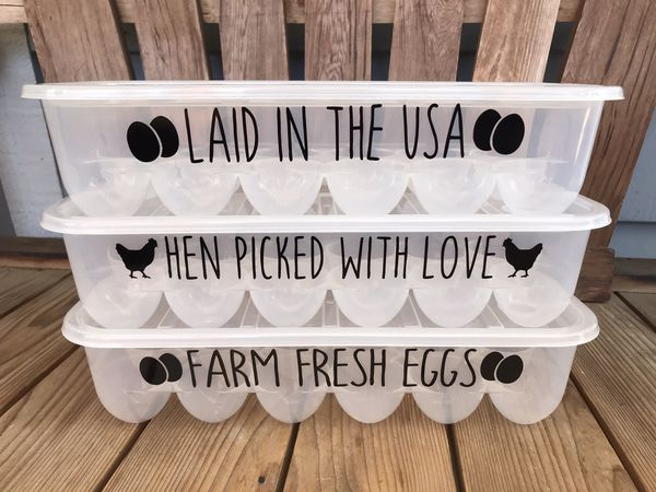 Reusable Plastic Egg Carton