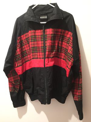 Balenciaga Black and Red Jacket Authentic for Sale in Queens, NY