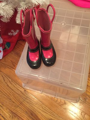 Toddler rain boots for Sale in Chicago, IL