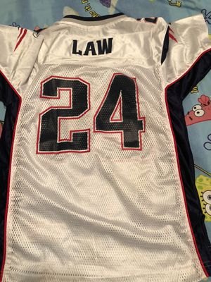 NFL New England patriots TY LAW Jersey #24 for Sale in West Park, FL
