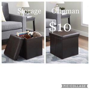 Storage Ottoman for Sale in Dallas, TX