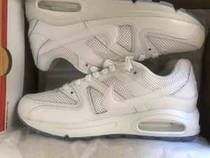 Men's white nike airmax rare available size 10.5 won't last 3 bubbles frame not like the common 2 model,with ice sole First 200 takes them NORTHRIDGE for Sale in Los Angeles, CA