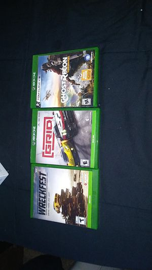 Xbox One games for Sale in Cupertino, CA