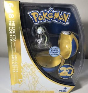 POKEMON 20TH ANNIVERSARY FIGURES TOMY s for Sale in Lemoore, CA