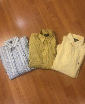 Men dress shirt Ralph Lauren/ Hilfiger for Sale in Miami, FL