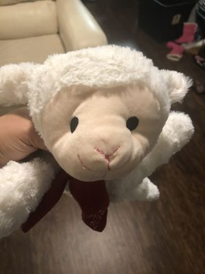 Holiday Lamb, Bunny and Bear with Squeaky Bellies (3 stuffed animals) for Sale in Raleigh, NC