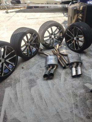 Maserati rims and custom larini mufflers for Sale in Tampa, FL